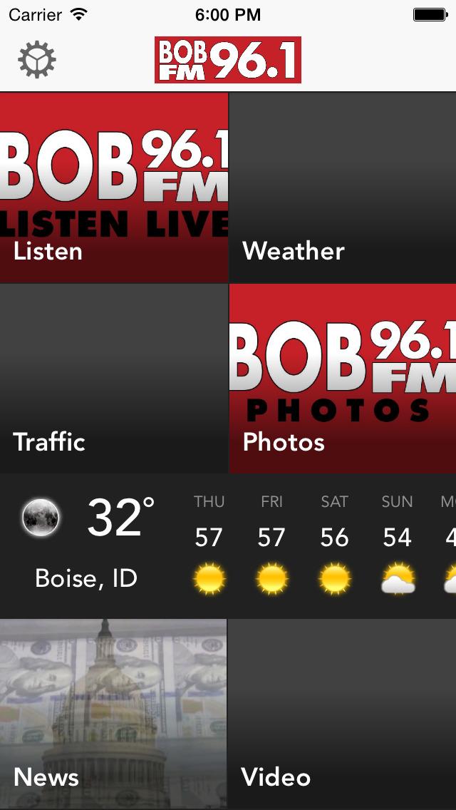 96.1BOBFM screenshot 1