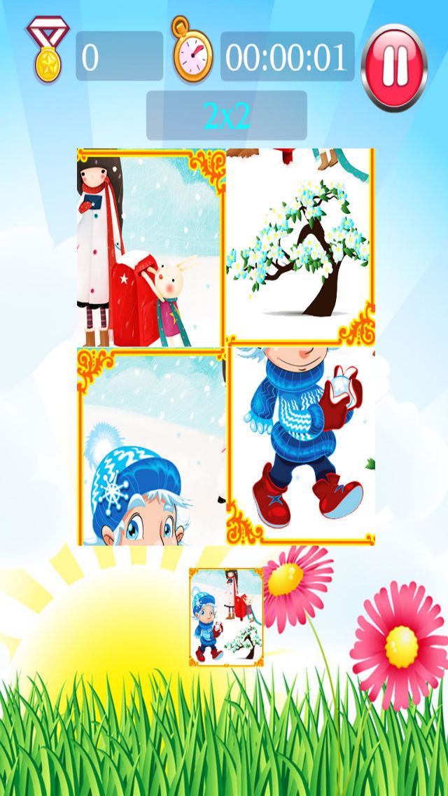 Season puzzle screenshot 1