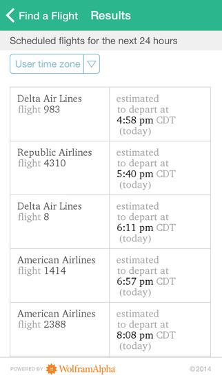 Wolfram Travel Assistant App screenshot 3