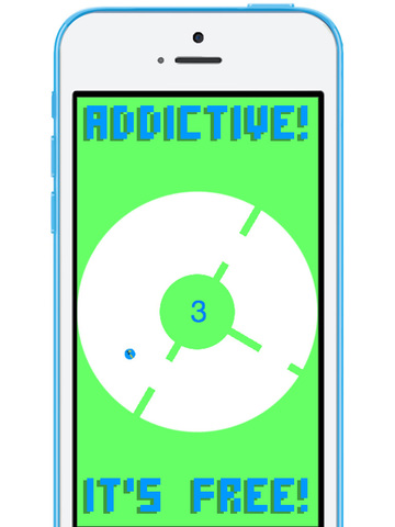 Rotating Flappy FREE screenshot 7