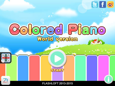 Colored Piano screenshot 6