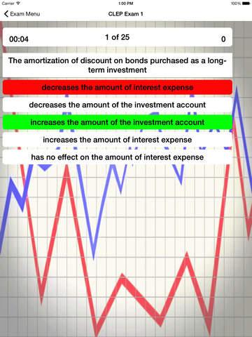 CLEP Financial Accounting Prep screenshot 8