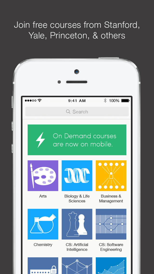Coursera: Learn new skills screenshot 1