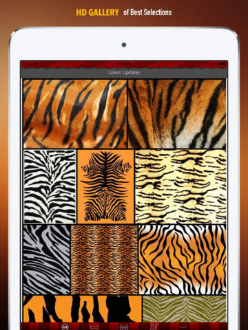 Tiger Print Wallpapers HD: Quotes Backgrounds Creator with Best Designs and Patterns screenshot 6