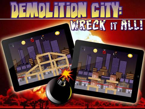 Demolition City - Wreck It All! screenshot 4