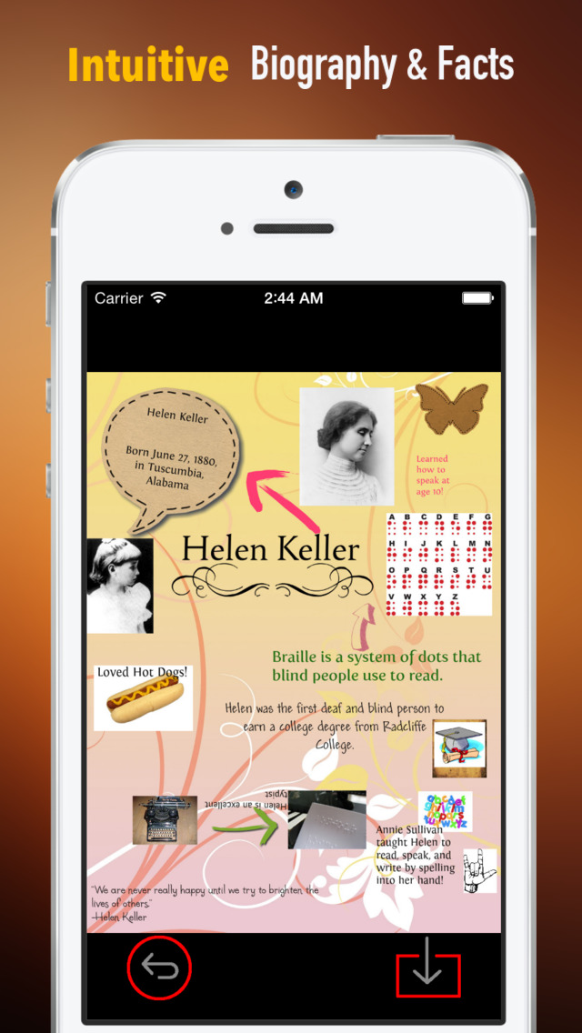 Helen Keller Biography and Quotes: Life with Documentary screenshot 1