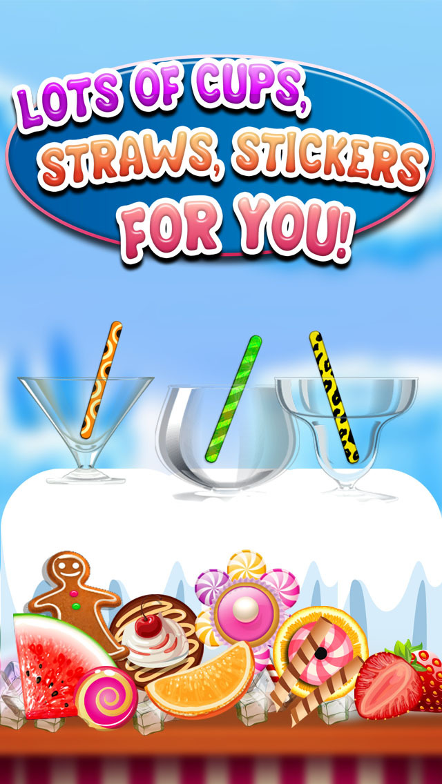 """ A AmazeBalls Candy Froyo Maker – Customer Frozen Yogurt Creator Free screenshot 4"