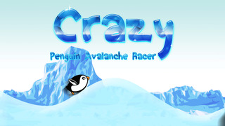 Crazy Penguin Avalanche Racer - amazing downhill racing game screenshot 1