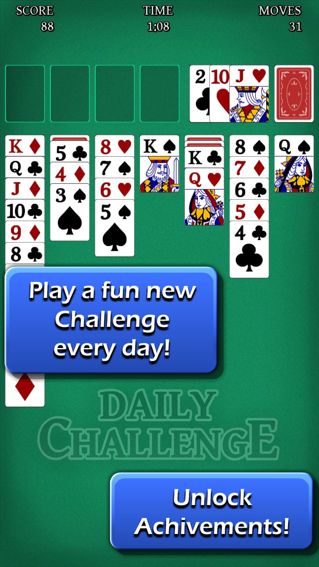 Solitaire: Daily Challenge screenshot 1