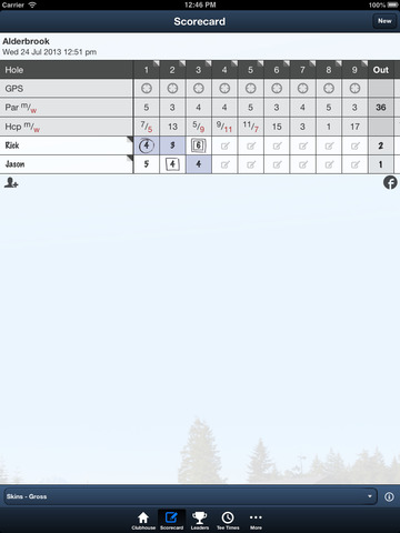 Alderbrook Golf Club screenshot 9
