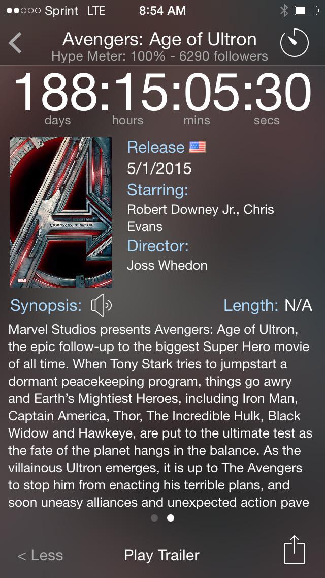 Movie Hype! screenshot 4