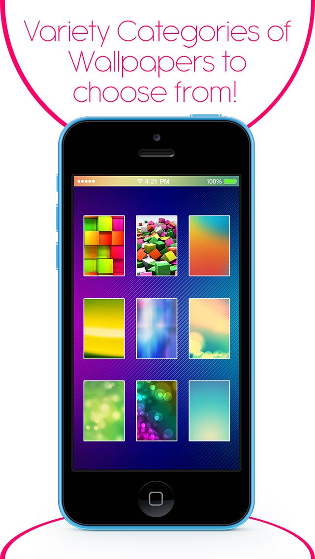 Pimp My Status Bar - Custom Top Bar Wallpapers and Colorful Backgrounds for Home Screen & Lock Screen screenshot 5