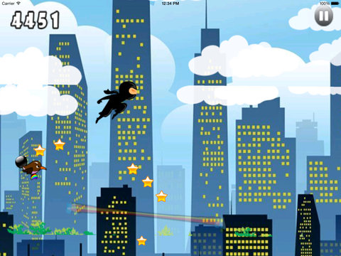 Clash Master Genius Ninja PRO - Run, Jump and Fly in the Dark City screenshot 10