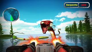 Monster Snake Shooting 3D screenshot 2