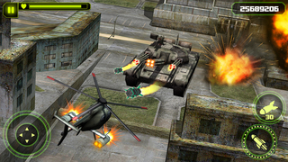 Gunship Helicopter Battle 3D screenshot 1