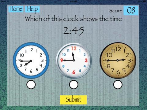 Match Clocks and Times screenshot 1