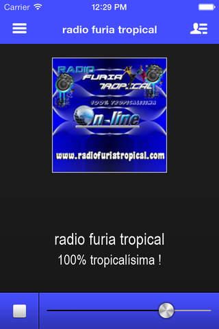 radio furia tropical - náhled