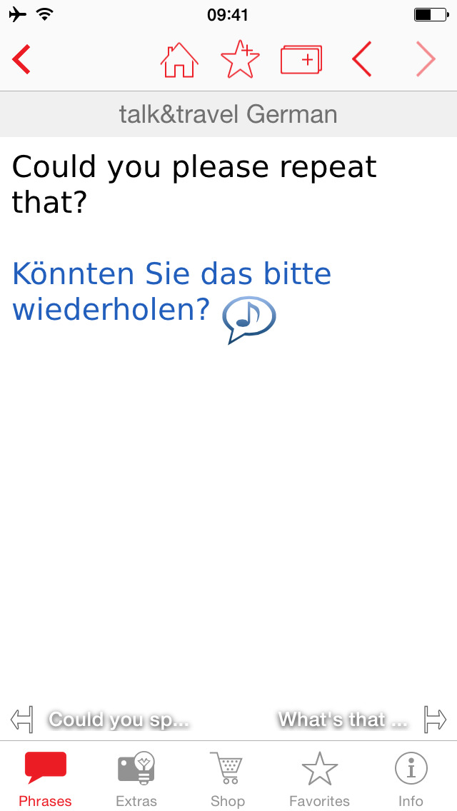 Talk&Travel Berlitz – the offline phrase books with audio. screenshot 4