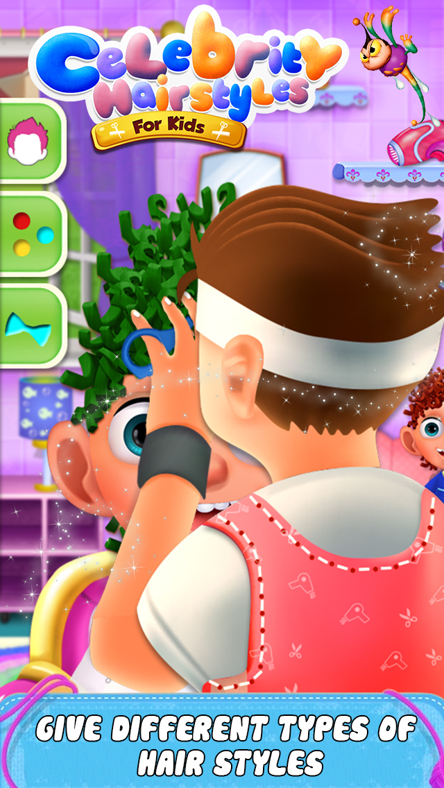 Celebrity Hair Style For Kids screenshot 2