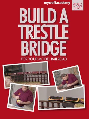 Build a Trestle Bridge for Your Model Railroad screenshot 6