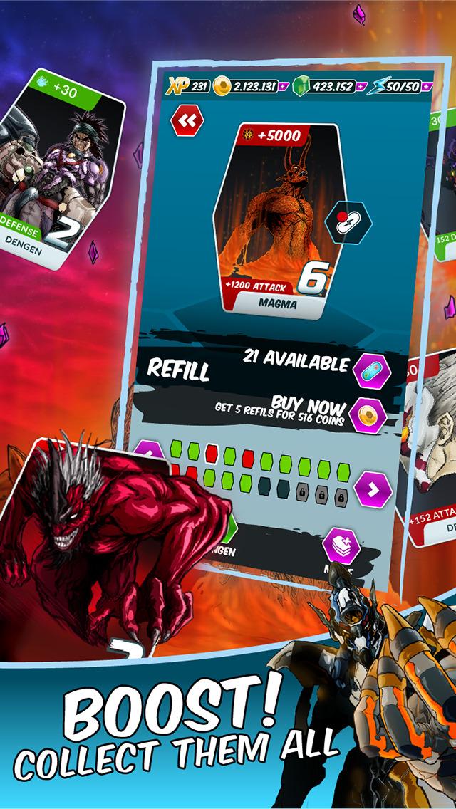 Dengen Chronicles Trading & Collectible Card Game screenshot 2