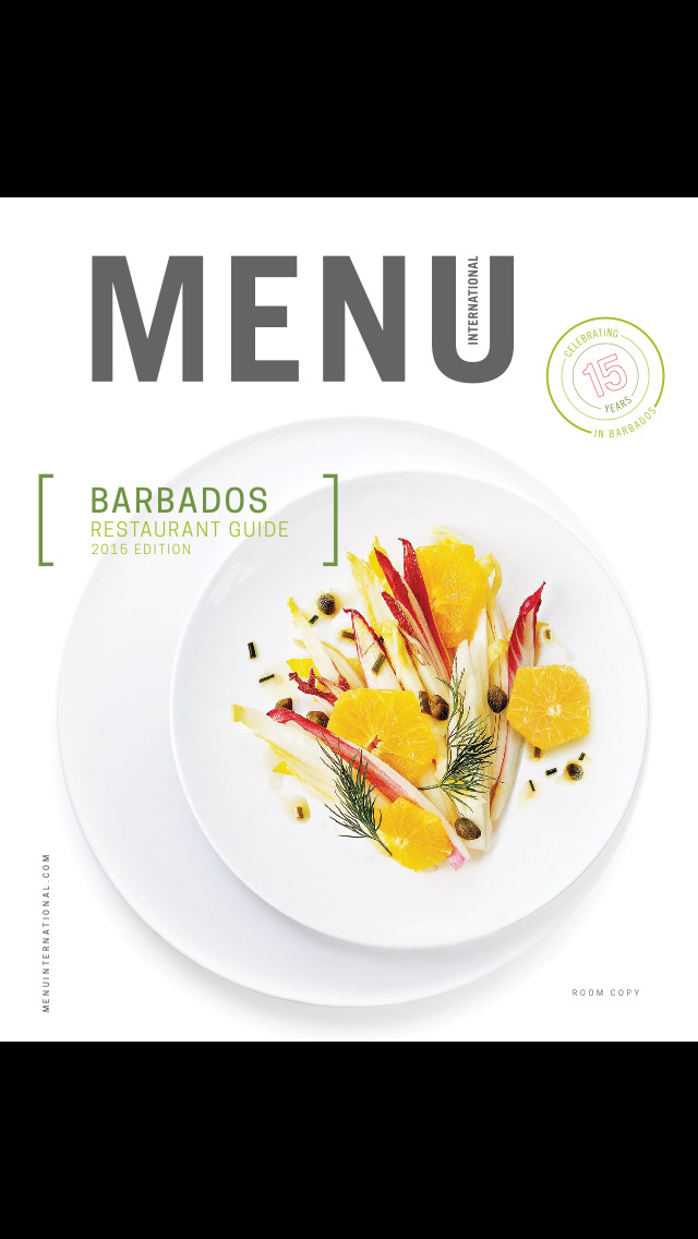 Menu International - Restaurant Guide - Barbados screenshot 1