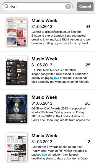 Music Week screenshot 4