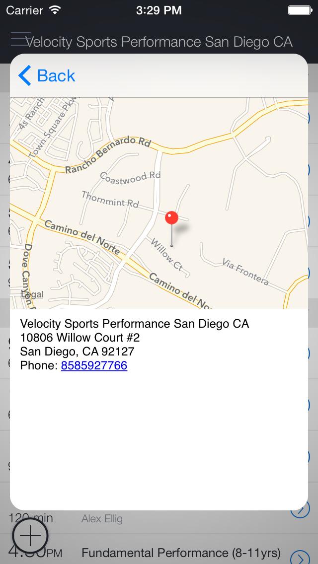 Velocity SP San Diego screenshot 2