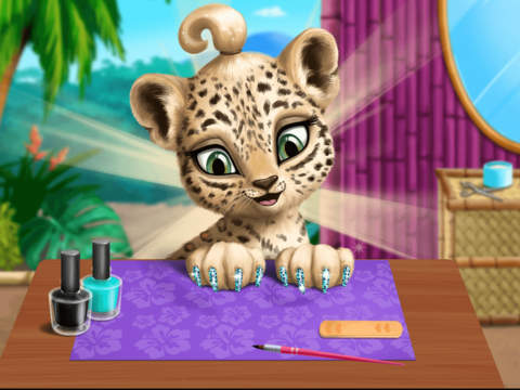 Baby Jungle Animal Hair Salon - No Ads screenshot 7