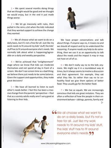 Life Learning Magazine screenshot 8