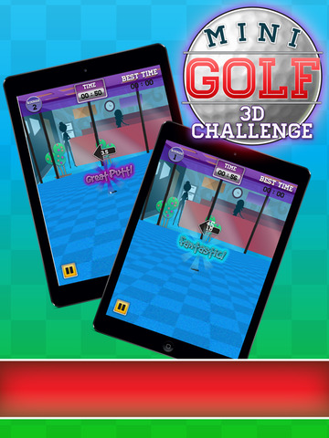 Mini Golf 3D Challenge screenshot 6