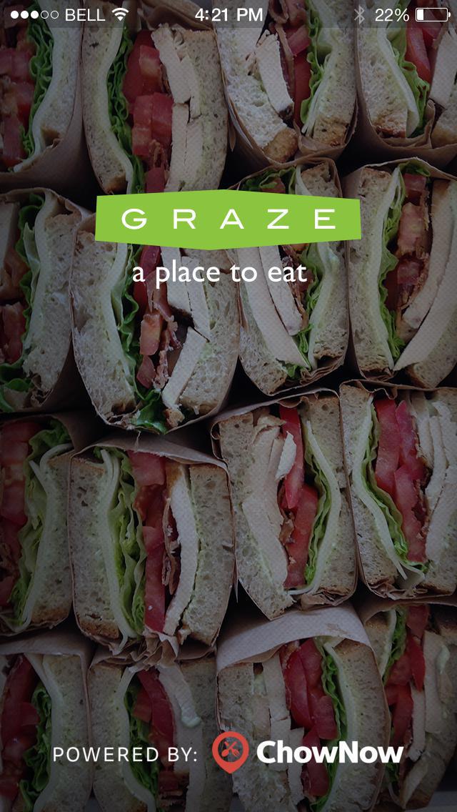 Graze Sandwiches screenshot 1