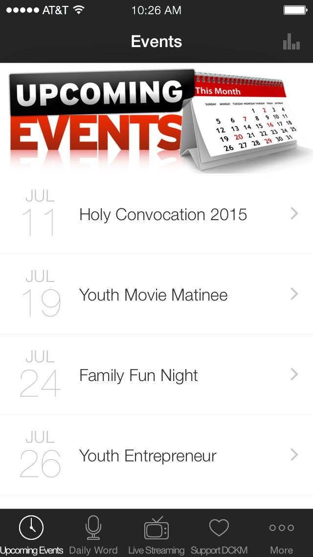 Dana Carson Kingdom Ministries screenshot 1