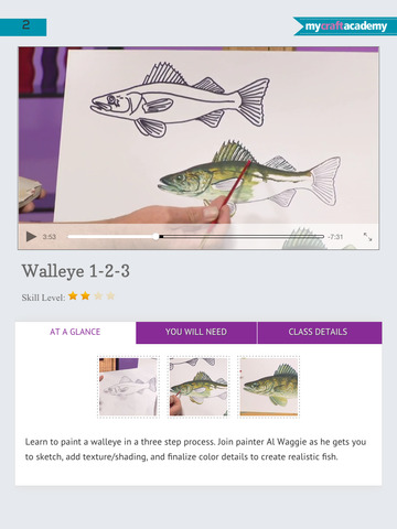 Oil Painting Wildlife: Fish & Birds screenshot 7
