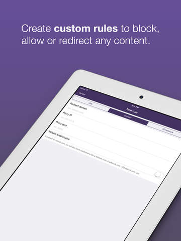 Weblock: adblock & proxy screenshot 8