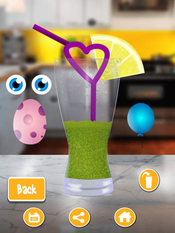 Flavored Slushie Drink Maker Pro - cool kids smoothie drinking game screenshot 10