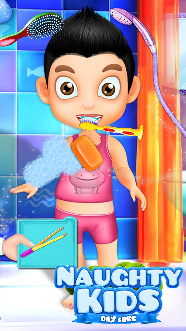 Naughty Kids Day care screenshot 5