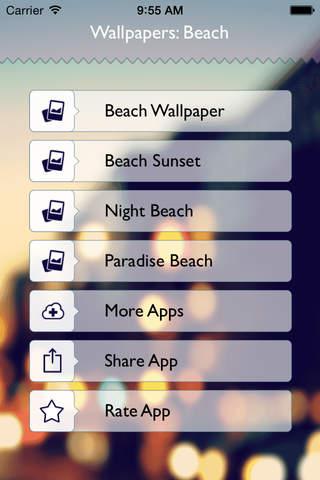 Beach Wallpaper: Best HD Wallpapers - náhled