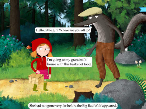 Little Red Riding Hood by Nosy Crow screenshot 7