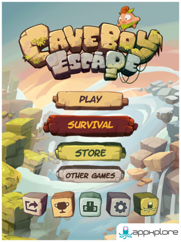 Caveboy Escape screenshot #1