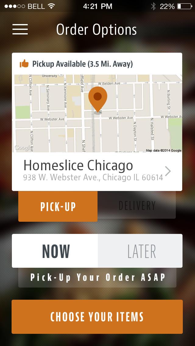 Homeslice Chicago screenshot 2