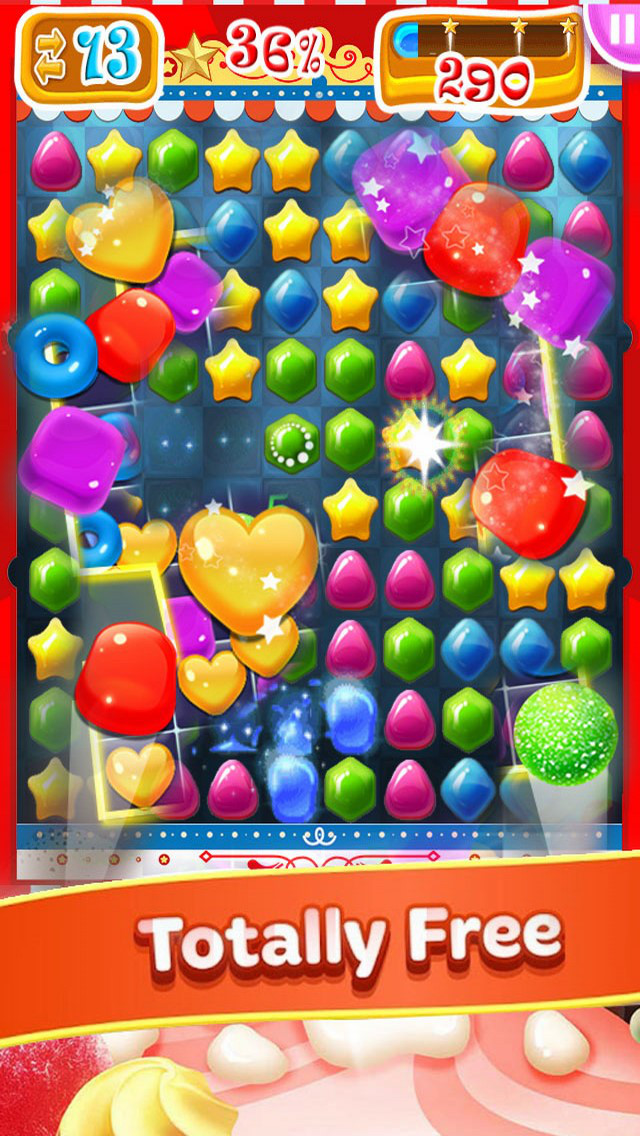 Fun Jelly Pop: Yummy Mania screenshot 1