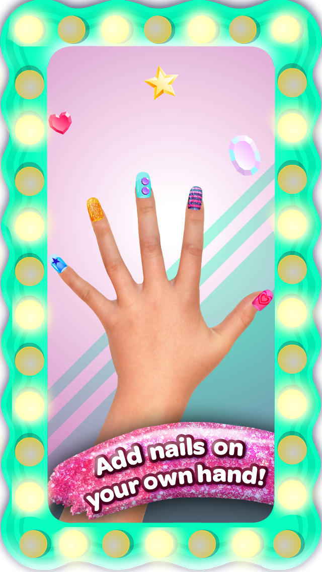 Crayola Nail Party – A Nail Salon Experience screenshot 2