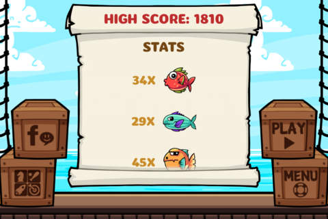 Fish Jump - Tap Tap Free Arcade Game - náhled