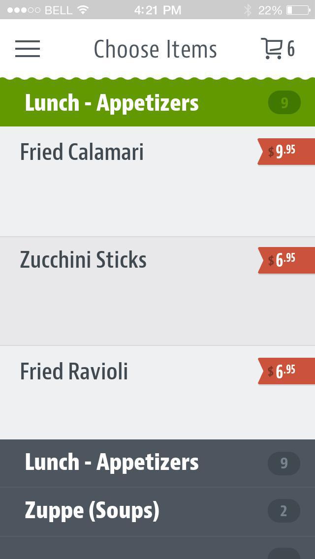 Luigi's D' Italia screenshot 3