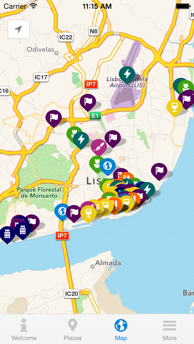 Inside Lisbon - City Guide screenshot 4