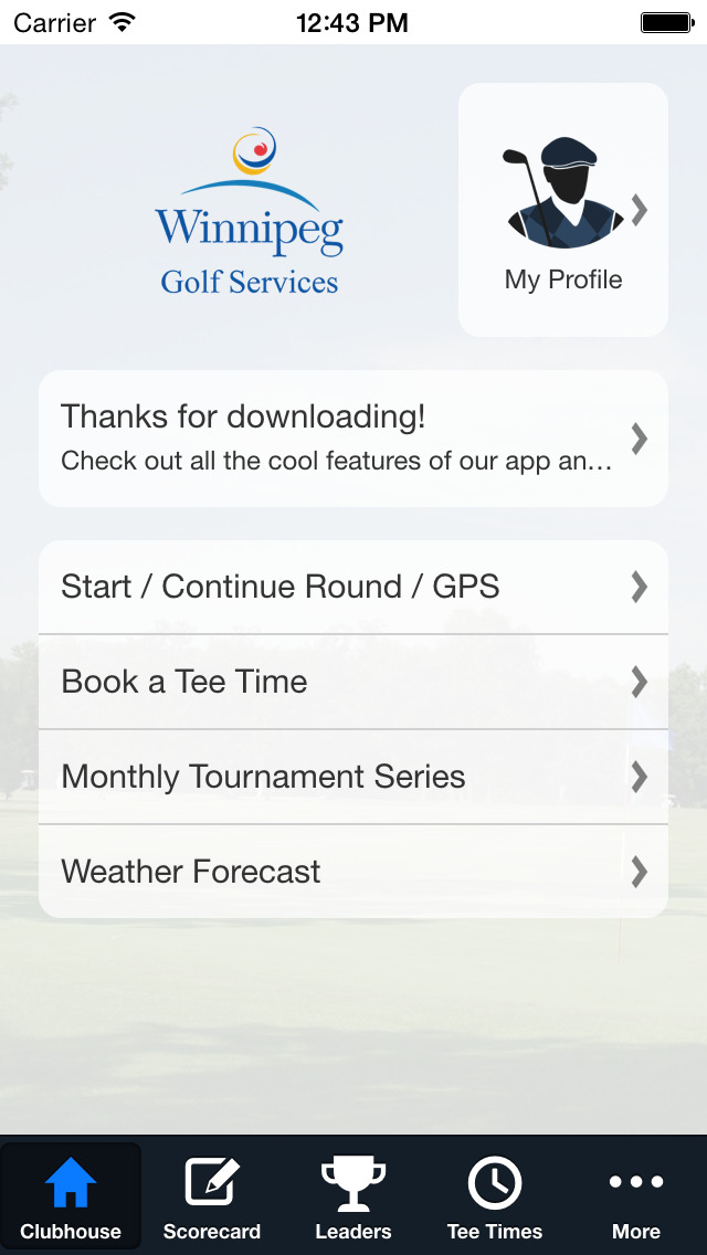 Winnipeg Golf Courses screenshot 2