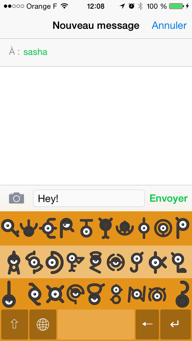Unown Keyboard | Apps | 148Apps