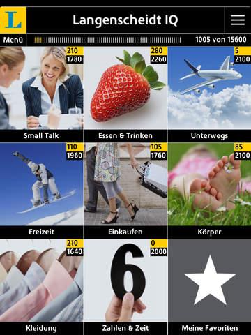 Italienisch Vokabeltrainer Langenscheidt IQ - Vokabeln lernen mit Bildern screenshot 6