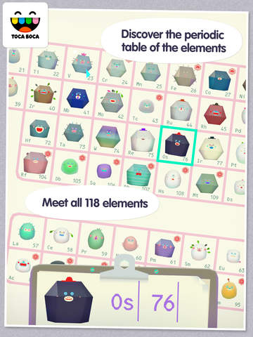 Toca Lab: Elements screenshot 7